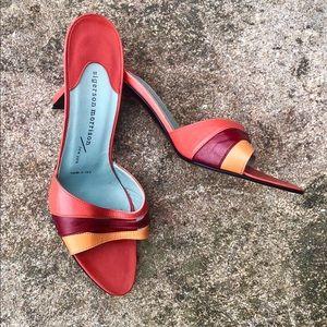Sigerson Morrison Multicolor Strap Sandals 6.5